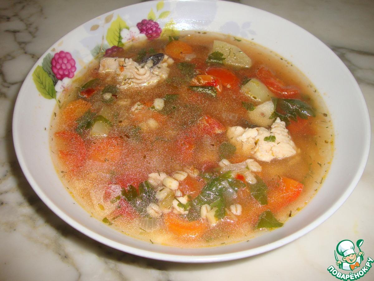 Рыбный суп рецепт ребенку на