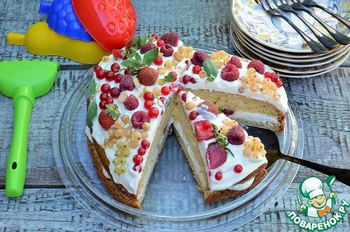 Легкий летний торт
