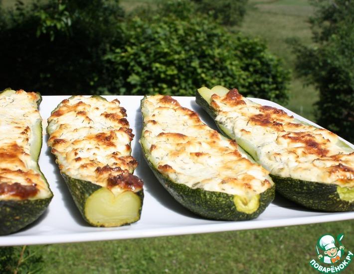 Рецепт: Кабачки с сыром