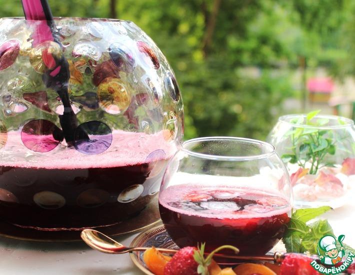Рецепт: Холодный напиток Гибискус по-волжски