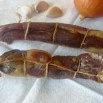 Вяленая свиная шейка в натуральной оболочке
