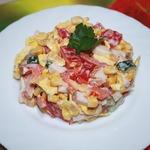 Легкий салат к 8 Марта