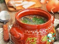 Деревенская гречневая похлебка с салом ингредиенты