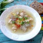 Суп с потрохами