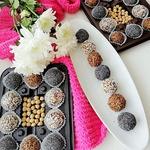 Нутовые постные конфеты