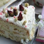 """Бисквитный торт """"Пина Колада"""""""