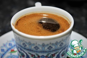 Рецепт: Турецкий кофе
