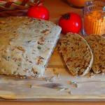 Луковый хлеб с семечками