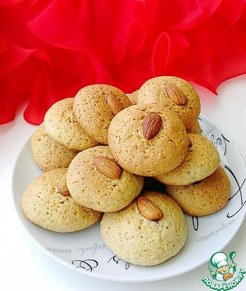 """Итальянское постное печенье """"Миндальное"""""""