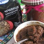 Джем шоколадно-ореховый из чечевицы