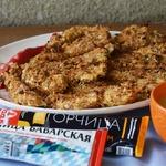 Куриные палочки с горчичным соусом