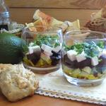 Салат с брынзой и свеклой