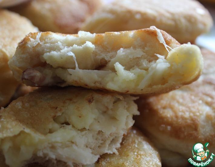Рецепт: Любимое тесто для жареных пирогов