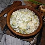 Кабачки в сметанном соусе
