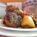 Куриные голени с овощами в рукаве