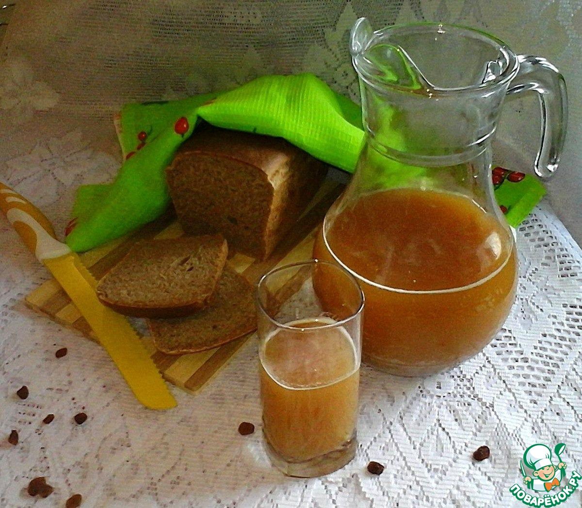 Квас на сухой закваске рецепт пошагово