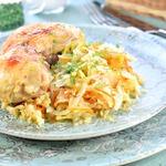 Курица с овощами Рецепт ленивой хозяйки