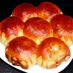 Семейный пирог-булочки с черемшой