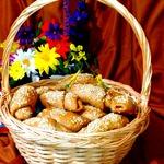 Кофейные булочки с сухофруктами