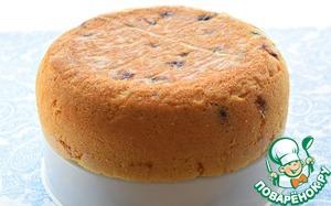 Ягодный бисквитный пирог Черешня