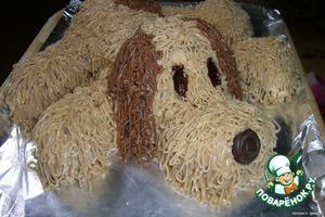 фото: Торт «Собачка»