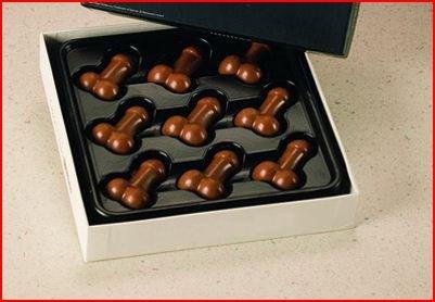 Пенис шоколад