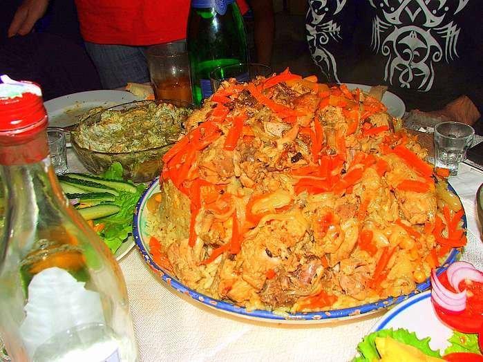 рецепт маша с мясом узбекский