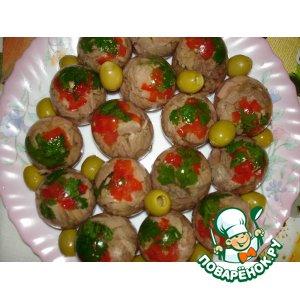 Заливное в яйцах простой рецепт приготовления с фотографиями пошагово как приготовить