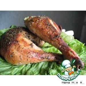 Рецепт Куриные ножки с хрустящей кожицей