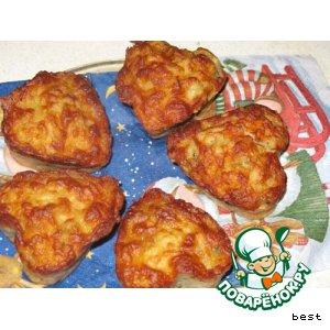 Рецепт Картофельные маффины с сыром