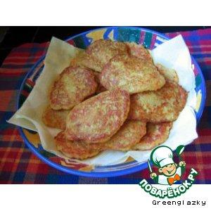 Картофельные оладьи пошаговый рецепт с фото готовим