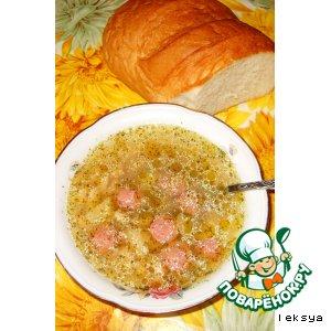 Рецепт Острый суп из фасоли