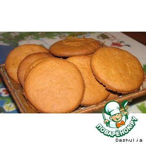 Готовим Имбирное печенье вкусный рецепт с фото на Новый Год