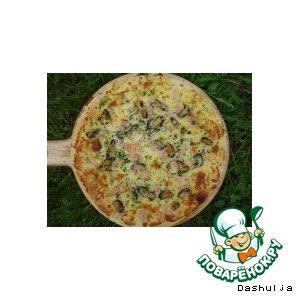 Рецепт Пицца с морепродуктами