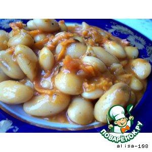 Фасоль в томате домашний рецепт приготовления с фотографиями пошагово