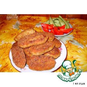 Куриные котлетки с сюрпризом вкусный пошаговый рецепт приготовления с фотографиями