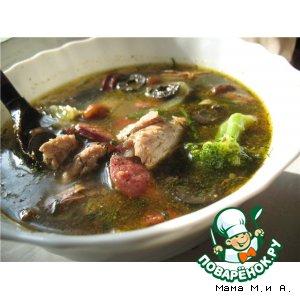Как приготовить Солянка мясная сборная вкусный рецепт с фото пошагово