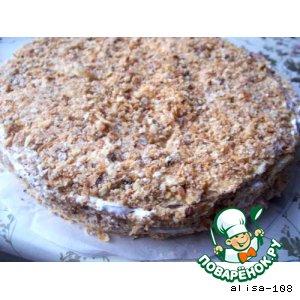 Торт слоеный вкусный рецепт приготовления с фото пошагово готовим