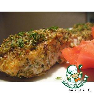 Запечeнная рыба в «зелeной» панировке простой рецепт приготовления с фотографиями как приготовить на Новый Год