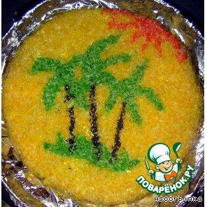"""Рецепт Торт """"Тропический рай"""""""