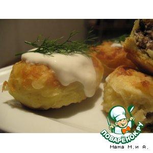 Рецепт Картофельные пирожки со шпротами