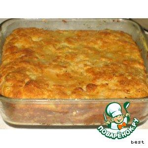 Рецепт Картофельный пирог с брынзой