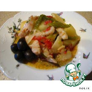 Как готовить Рыба в испанском стиле рецепт приготовления с фото пошагово на Новый Год