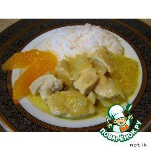 Рецепт Куриные грудки в апельсиновом соусе