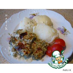 Треска под сырным соусом рецепт приготовления с фото пошагово