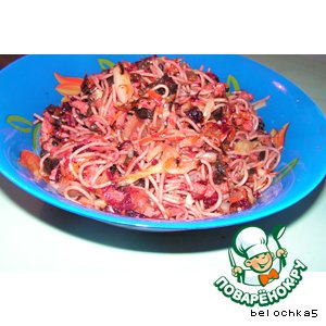 Рецепт Китайский салат «Лен Дзи»