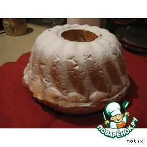 Рецепт Хлеб орехово-фруктовый