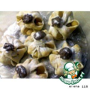 Как готовить Мандарины в слойке домашний пошаговый рецепт приготовления с фото на Новый Год