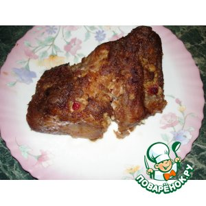 Рецепт Свинина с клюквой