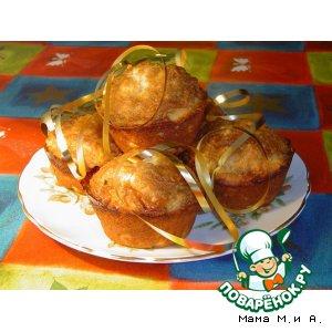 Яблочно-коричные кексы домашний пошаговый рецепт с фотографиями как приготовить на Новый Год